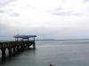 Pelabuhan laut pulau Caros